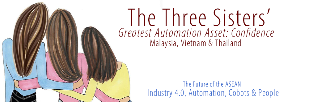 Part Two of a Two-Part Article on Southeast Asia's Brightest Futures The Three Sisters' Greatest Automation Asset: Confidence Buoyed by rising confidence, SMEs in Malaysia, Vietnam & Thailand are poised to accelerate transformation via automation beginning in 2020
