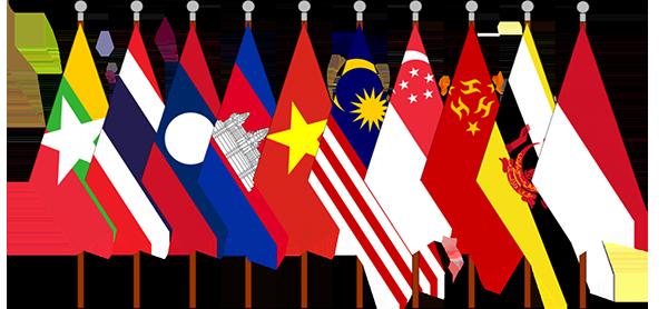 asean flags 600